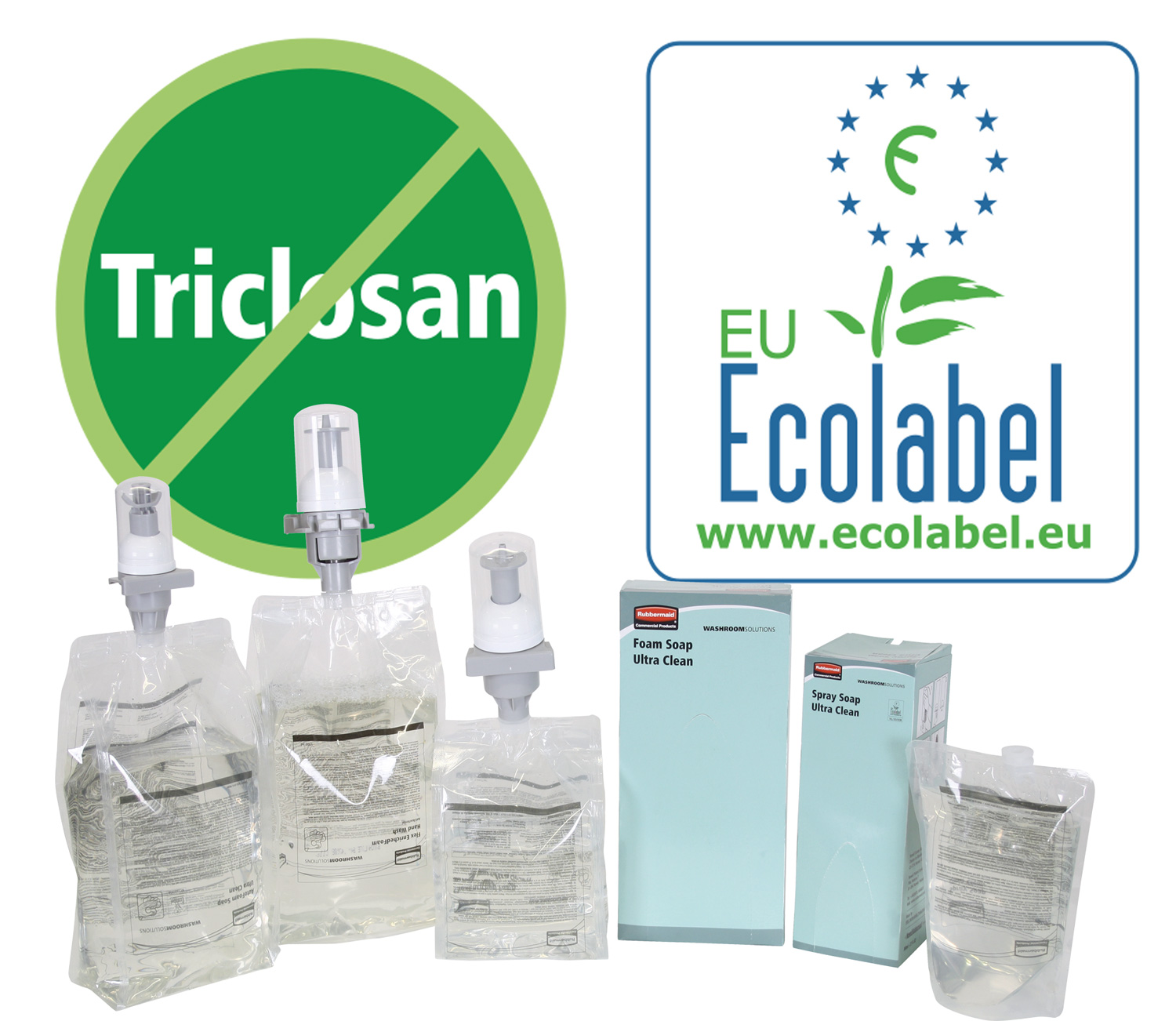 New Ultraclean Triclosan-Free Formulation